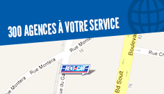 Agences de location Rent A Car