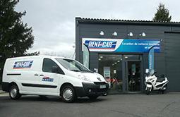 Location voiture et utilitaire Voiron - Rent A Car.