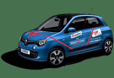 Rent A Car freeloc