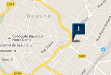 Location voiture Beaune
