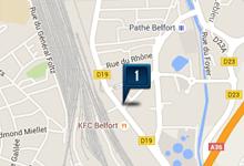 Location voiture Belfort