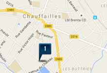 Location voiture Chauffaillles