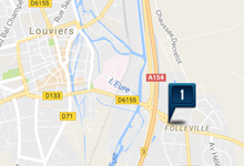 Location voiture Louviers