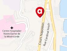 Location de voiture en plein coeur d'Ajaccio