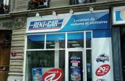 Location de voiture Malesherbes, PARIS 08 - Rent A Car