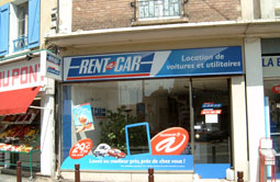Location de voiture SAINT OUEN L'AUMONE - Rent A Car.