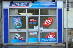 Location voiture à Dijon Centre chez Rent A Car