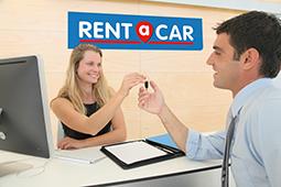 Location voiture CAEN GARE chez Rent A Car.