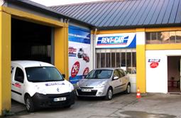 Location de voiture à VANNES GARE (Navette) - Rent a Car