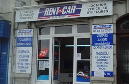 Location voiture DAX - GARE chez Rent A Car.