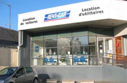 Location de voiture et d'utilitaire à Angers - Rent A Car.