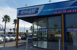Location voiture Montpellier Baillargues chez Rent A Car.
