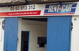 Location voiture MONTAUBAN chez Rent A Car.