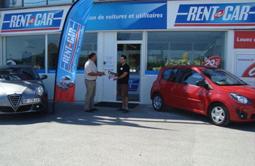 Location voiture à Cannes Aéroport Mandelieu chez Rent A Car