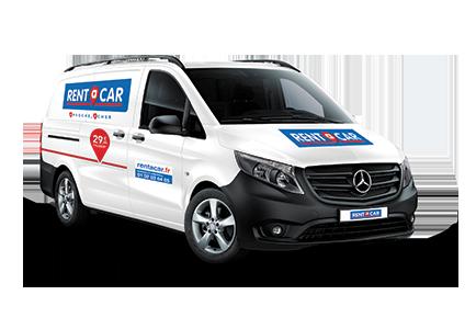Location utilitaire Rentacar NICE AÉROPORT (POINT SERVICE) Camionnette (5-6 m3)